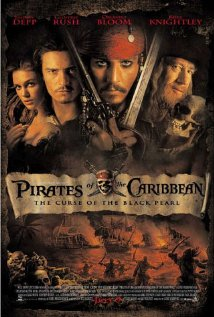 Pirates Of The Caribbean: The Curse Of The Black Pearl - Official Poster - from IMDB.com