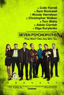 Seven Psychopaths - Official Poster - from IMDB.com