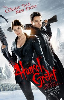 Hansel and Gretel: Witch Hunters - Official Poster from IMDB.com