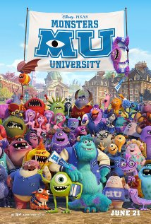 Monsters University - Official Poster - from IMDB.com